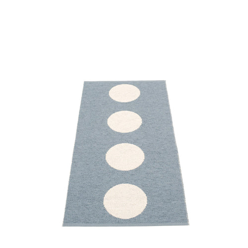 North Haven Plastic Floor Mats Storm/Vanilla (Multiple Sizes)