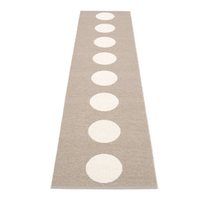North Haven Plastic Floor Mats Mud/Vanilla (Multiple Sizes)