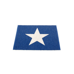 Sagaponack Plastic Floor Mats Blueberry/Vanilla (Multiple Sizes)