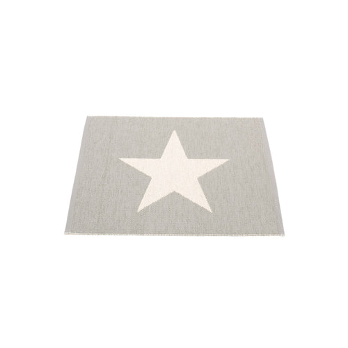 Sagaponack Plastic Floor Mats Warm Grey/Vanilla (Multiple Sizes)