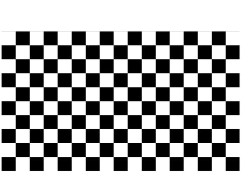 The Footwear Care Checkered Vinyl Stencil - The Footwear Care
