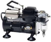 IWATA - ECLIPSE CS AIRBRUSH AND SMART JET COMPRESSOR PACK - The Footwear Care
