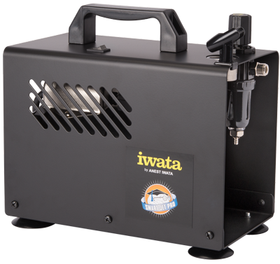 IWATA - MADE IN JAPAN STUDIO SERIES SMART JET PRO AIRBRUSH COMPRESSOR - The Footwear Care