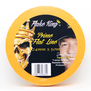 FLAKE KING PRIME FLAT LINE AIRBRUSHING MASKING TAPE 50 METRE X 24MM - The Footwear Care