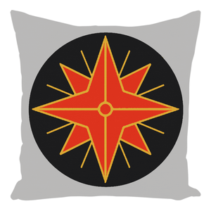 Fëanorian Star Throw Pillows