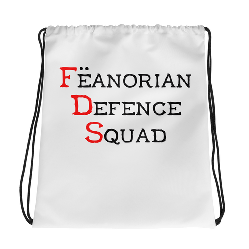 Feanorian Defence Squad Drawstring bag