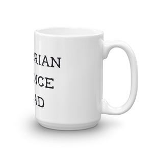mug on white background