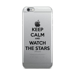 Keep Calm & Watch The Stars iPhone Case