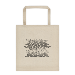 Oath of Fëanor Tote Bag