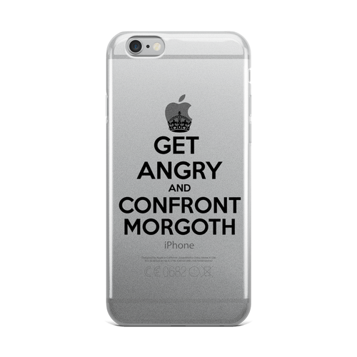 Get Angry & Confront Morgoth iPhone Case
