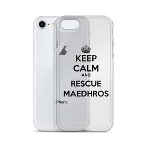 Keep Calm & Rescue Maedhros iPhone Case