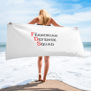 Fëanorian Defense Squad Towel