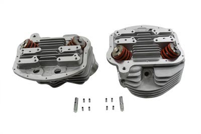 Panhead Cylinder Heads with Valves - V-Twin Mfg.
