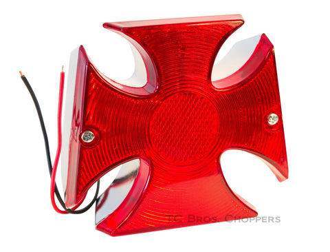 Maltese Cross Tail Light