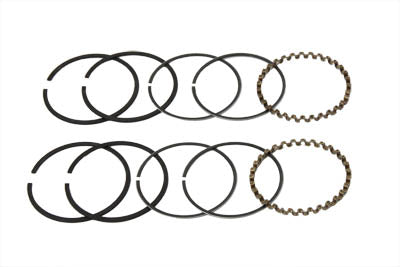 74  FLH Piston Ring Set .030 Oversize - V-Twin Mfg.