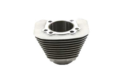 Replica 1200cc Silver Finish Cylinder - V-Twin Mfg.