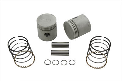 45  WL/G Piston Kit .010  Oversize - V-Twin Mfg.