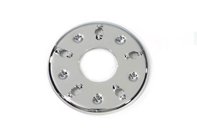 Outer Clutch Pressure Plate Chrome - V-Twin Mfg.