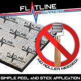 1947-55 1st Series GM Truck Cab Wall Insulation and Sound Dampening Kit - Flatline Barriers