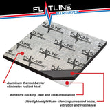 "Thermal Acoustic Insulation - Nine 24""x 48"" sheets - Covers 72 sq ft - Flatline Barriers"