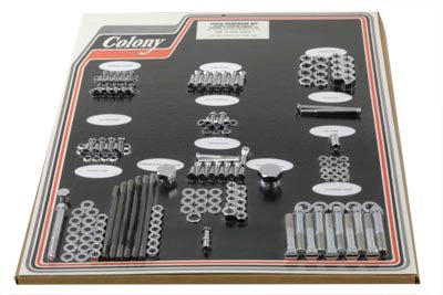 Chrome Stock Style Hardware Kit - V-Twin Mfg.