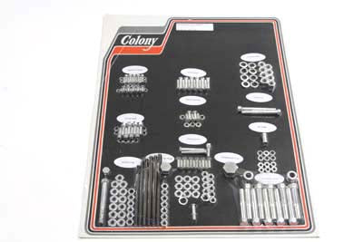 Cadmium Stock Style Hardware Kit - V-Twin Mfg.