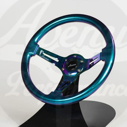 AVENUE STEERING WHEEL OPAL/ NEOCHROME SPOKES