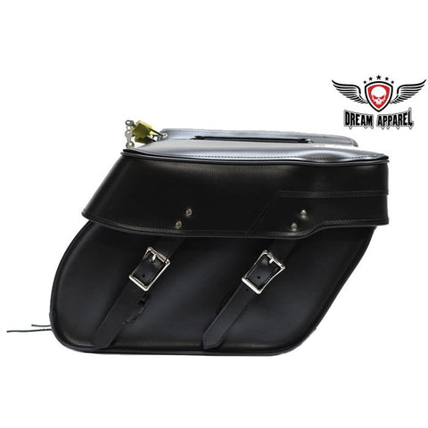 PVC Motorcycle Saddlebag