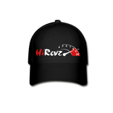 HiRevz Printed Logo Hat - black