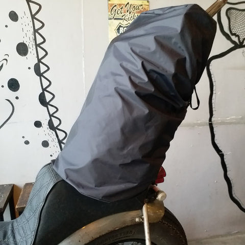 Sissy Bar Duffle Bag Rain Cover by R9Kustoms