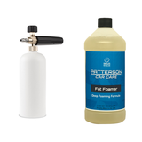 PRESSURE WASHER FOAM CANNON STARTER KIT - Patterson Car Care