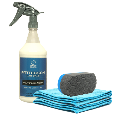 COMPLETE LEATHER CLEANER & CONDITIONER KIT - Patterson Car Care