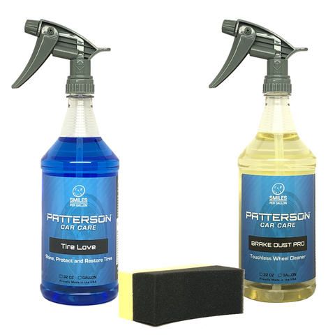 CLEAN & SHINE WHEEL & TIRE KIT - Patterson Car Care
