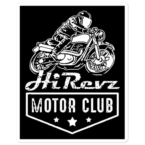 HiRevz Motor Club Bike 2 Stickers