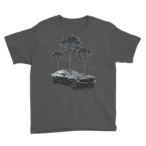Coyote on the Beach Youth Short Sleeve T-Shirt