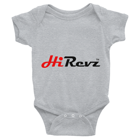 HiRevz Infant Bodysuit w/ Oil Leak on the Back