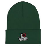 I Heart Haters Cuffed Beanie