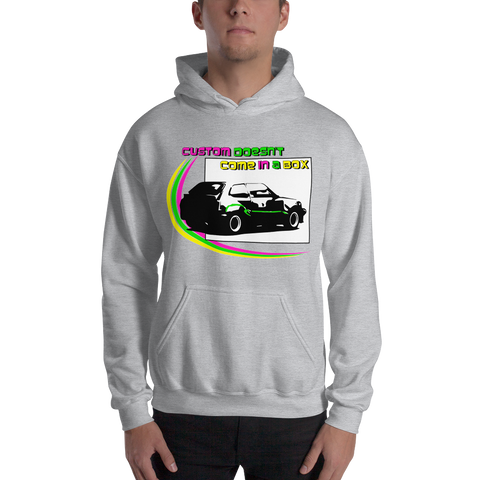 Custom Doesn't Come In A Box Hooded Sweatshirt