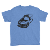 Evo 9 Black Youth T-Shirt