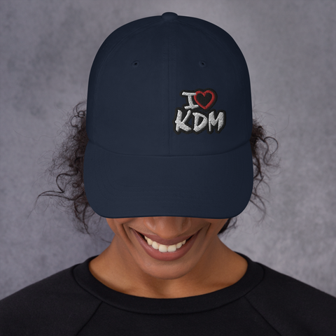I Heart KDM Dad Hat