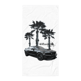 Coyote on the Beach Towel