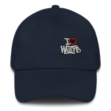 I Heart Haters Dad Hat
