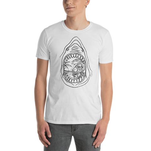Boardman Shark Tattoo Unisex T-Shirt