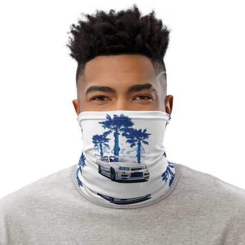 Godzilla on the Beach Neck Gaiter Mask