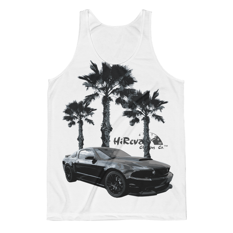 Coyote on the Beach Tank Top Front