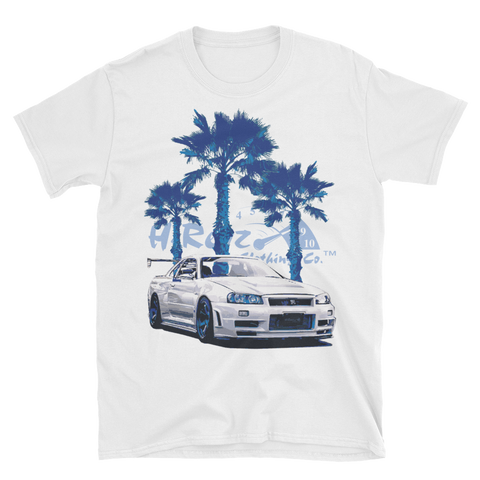 Godzilla on the Beach T-Shirt Front