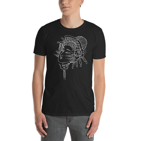 Boardman Japanese Geisha Tattoo Unisex T-Shirt