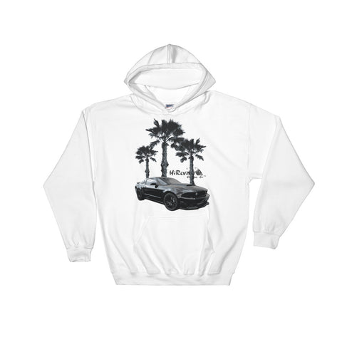 Coyote on the Beach Hooded Sweatshirt
