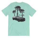 Coyote on the Beach T-Shirt Back
