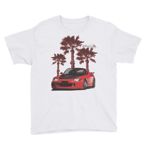 S2K on the Beach Youth Short Sleeve T-Shirt